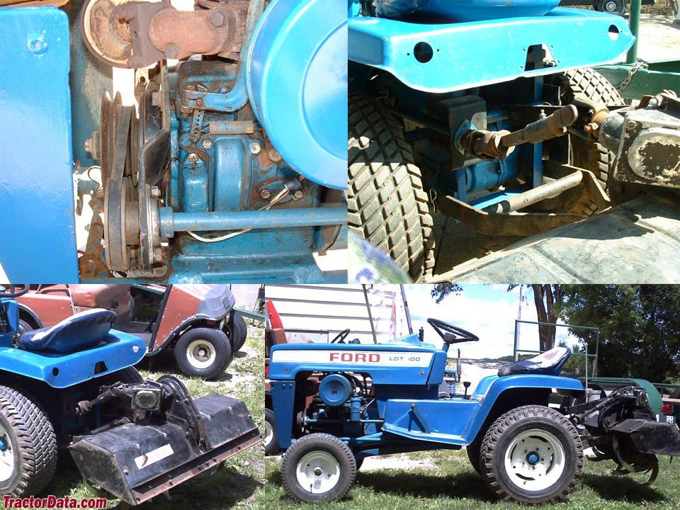 Ford Garden Tractors With Pto : Tractordata ford lgt tractor photos information