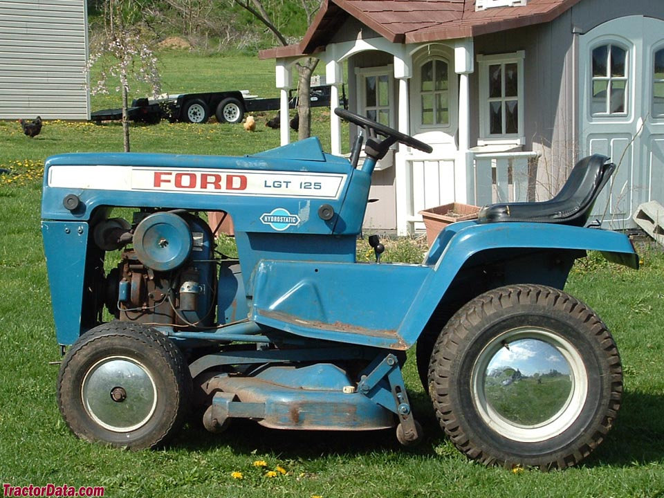 ford 125 garden tractor