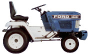 Ford LGT-16D lawn tractor photo