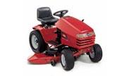 Toro 268-H lawn tractor photo
