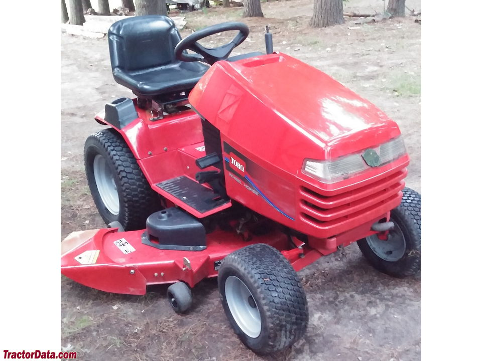 Toro Lawn Tractor Attachments : Tractordata wheel horse h tractor photos information