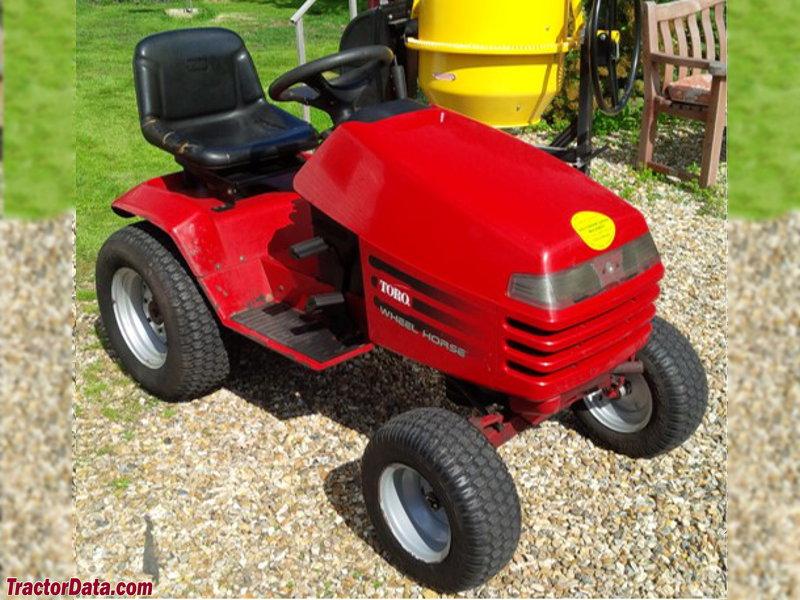 Wheel Horse Tractor Attachments : Tractordata wheel horse h tractor photos information