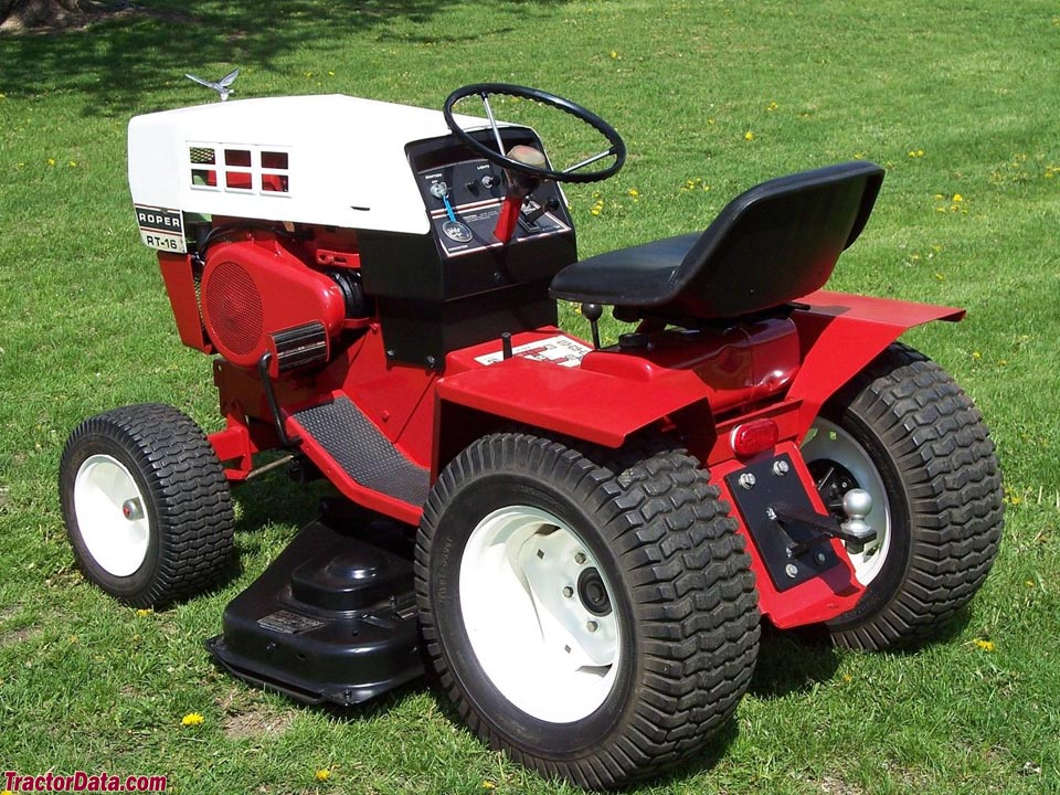 Roper Lawn Tractors And Garden : Tractordata roper t r rt tractor photos information