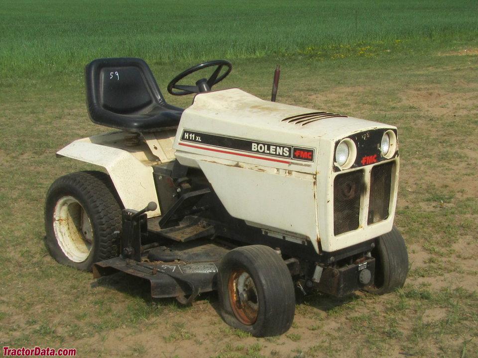 Bolens Lawn Tractor : Tractordata bolens h xl tractor photos information