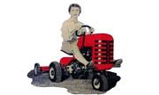 Hiller Yard Hand 100 lawn tractor photo