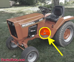 Ingersoll 4020 serial number location