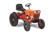 Power King 1614 lawn tractor photo