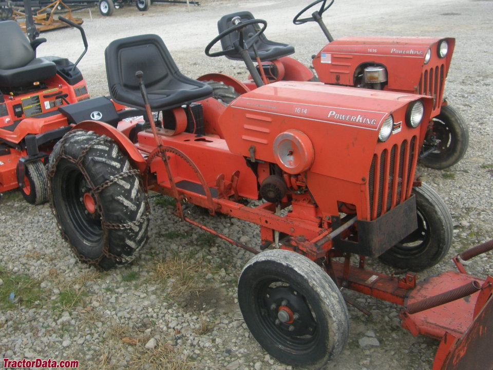 Tractordata Com Power King 1614 Tractor Photos Information