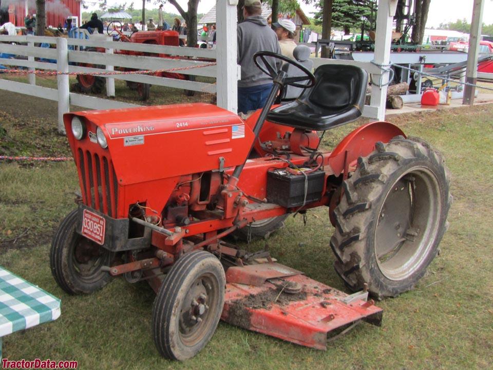 TractorData.com Power King 2414 tractor photos information