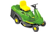 John Deere CR125 lawn tractor photo