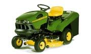 John Deere LR135 lawn tractor photo