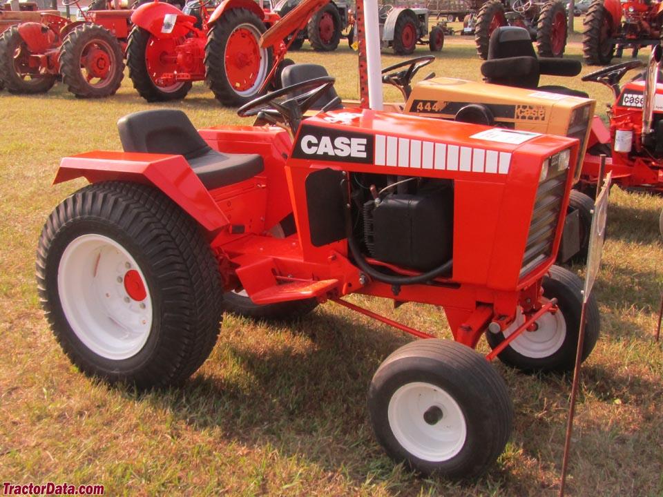 case garden tractor. J.I. Case 446 Garden Tractor N