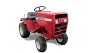 Snapper 1600 lawn tractor photo