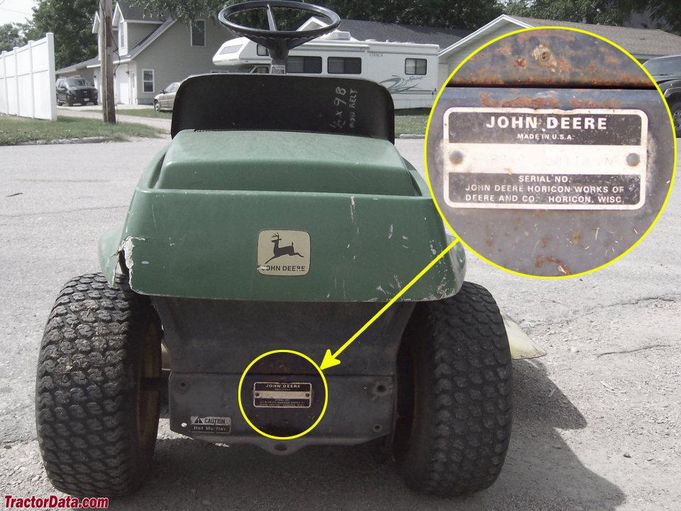 TractorData.com John Deere 68 tractor informationTractorData.com