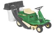 John Deere S82 lawn tractor photo