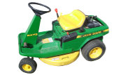 John Deere RX73 lawn tractor photo