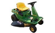 John Deere SRX75 lawn tractor photo