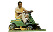 John Deere E96 lawn tractor photo