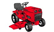 Snapper HYT18 lawn tractor photo
