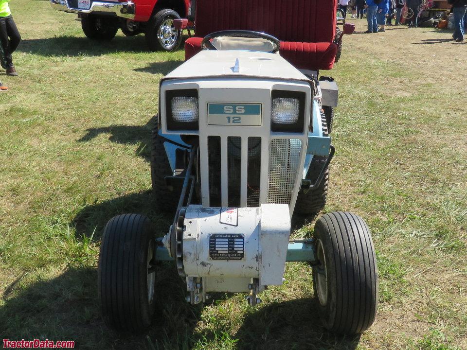 TractorData.com Sears Super 12 917.25510 tractor photos information