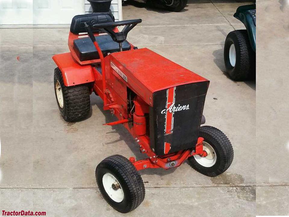 Ariens Lawn Tractor Attachments : Tractordata ariens manorway tractor photos information
