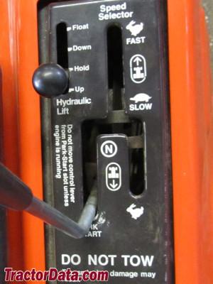 Ariens GT17 transmission controls