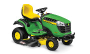 John Deere D155 lawn tractor photo