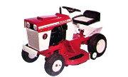 Toro Suburban 7 lawn tractor photo