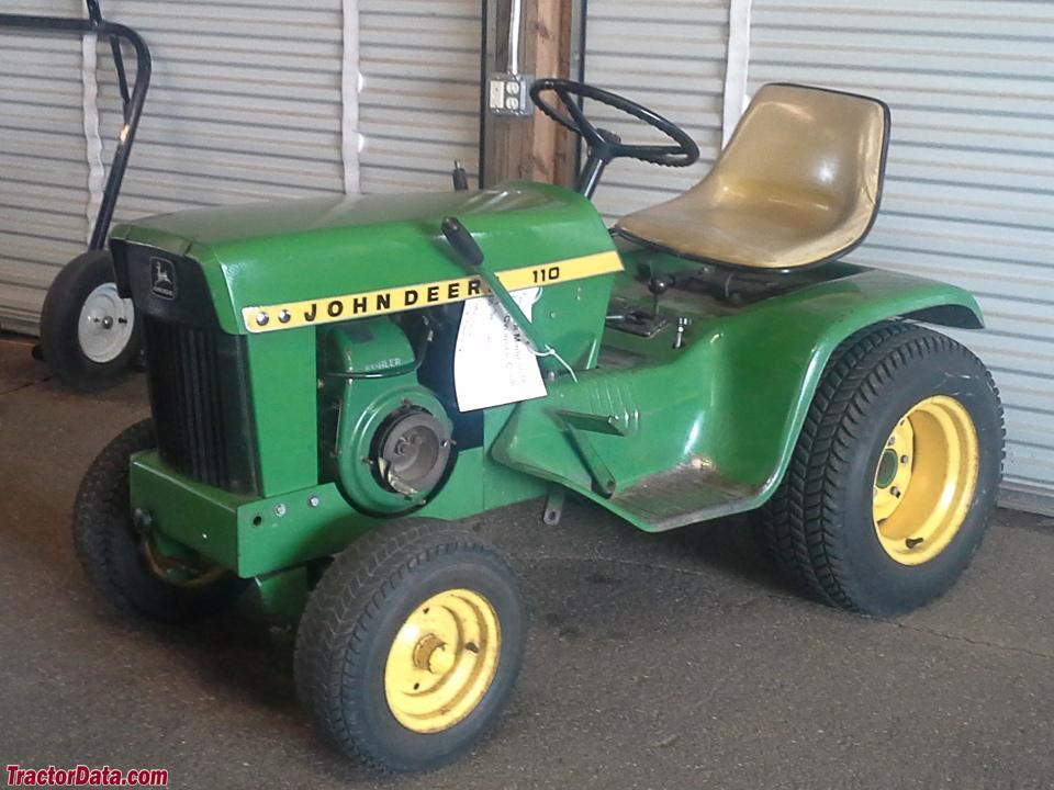John Deere 110 Garden Tractor Attachments : Tractordata john deere tractor photos information