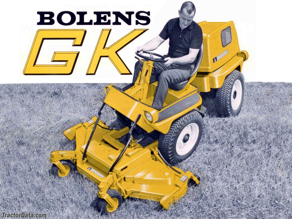 Bolens Groundkeeper GK 960 advertising image