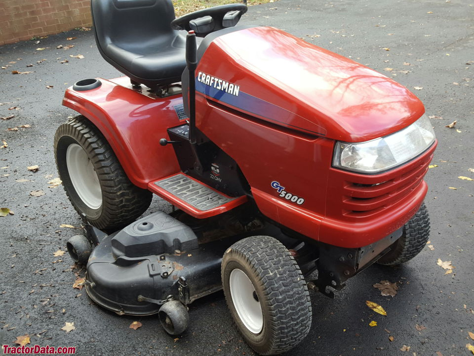 Craftsman 2000 Series Mower : Tractordata craftsman  tractor photos information