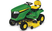 John Deere X350 lawn tractor photo