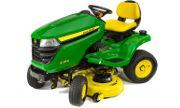 John Deere X354 lawn tractor photo