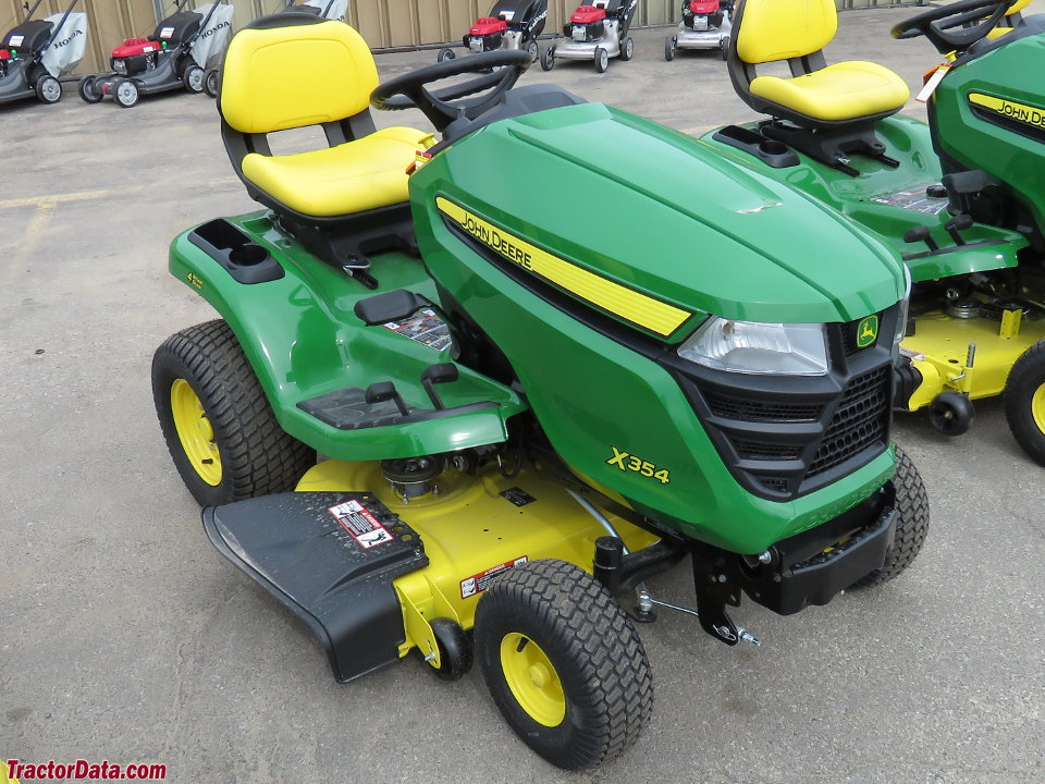 TractorData.com John Deere X354 tractor photos information