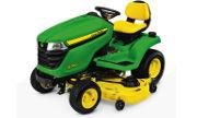 John Deere X380 lawn tractor photo