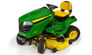 John Deere X384 lawn tractor photo