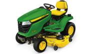 John Deere X390 lawn tractor photo