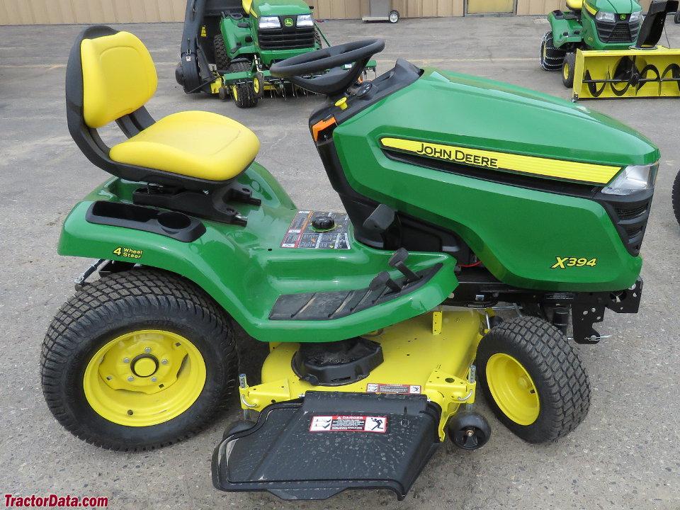John Deere X300 >> TractorData.com John Deere X394 tractor photos information