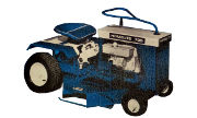 Homelite Yard Trac 730 lawn tractor photo