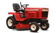 Yanmar YM12 lawn tractor photo