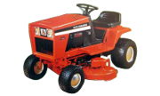 Allis Chalmers 616 Hydro lawn tractor photo
