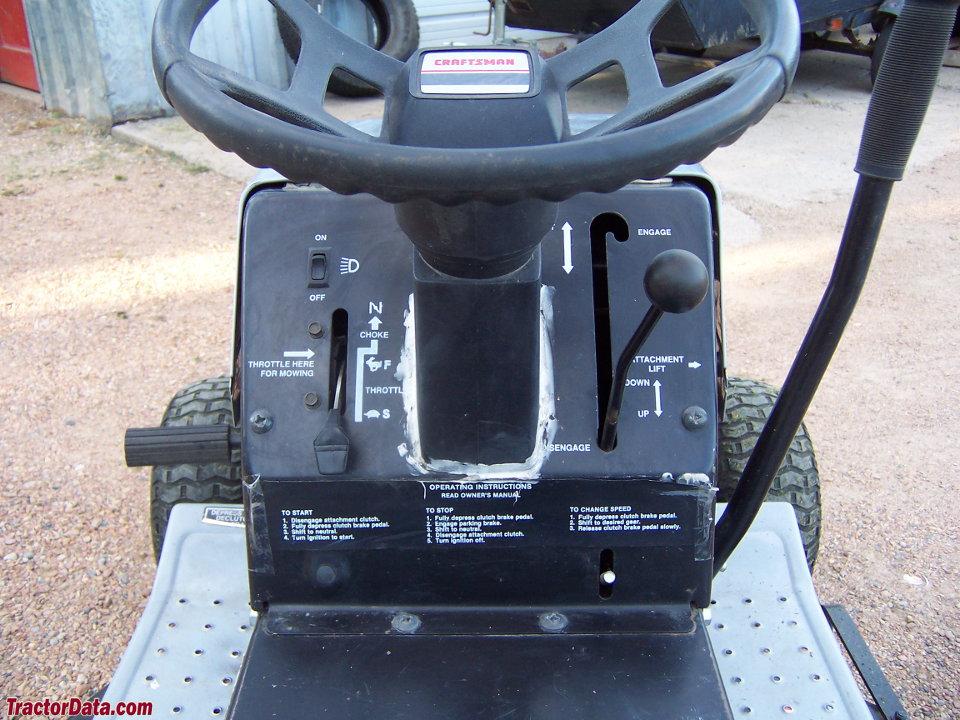 craftsman tractor photos information. Black Bedroom Furniture Sets. Home Design Ideas