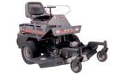 White FR-12 Turf Boss lawn tractor photo