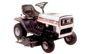 White LT-140 lawn tractor photo