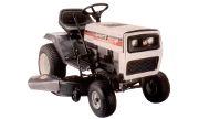 White LGT-1600 lawn tractor photo