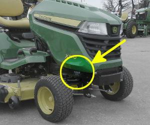 TractorData com John Deere X580 tractor information