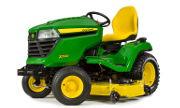 John Deere X580 lawn tractor photo