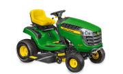 John Deere X105 lawn tractor photo