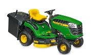 John Deere X115R lawn tractor photo