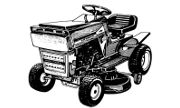 AMF 1283 lawn tractor photo